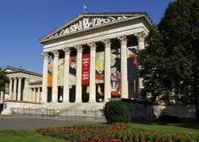 Museo delle belle arti nel quadrato degli eroi, Budapest immagine stock libera da diritti