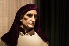 Museo delle figure di cera a Barcellona sul Las Ramblas della via Fotografie Stock Libere da Diritti