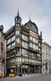 Museo dello strumento musicale a Bruxelles belgium fotografie stock