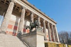 Museo di Altes (vecchio museo) a Berlino, Germania Immagini Stock