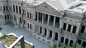 Museo di archeologia a Costantinopoli Immagine Stock Libera da Diritti
