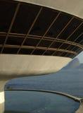 Museo di arte contemporaneo del ³ i di Oscar Niemeyerâs Niterà fotografie stock