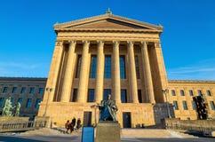 Museo di arte di Filadelfia Pensilvania fotografia stock libera da diritti