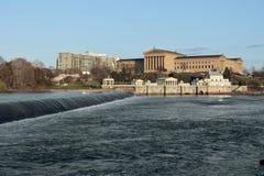 Museo di Arte di Philadelphia immagini stock