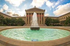 Museo di arte di Filadelfia immagini stock libere da diritti
