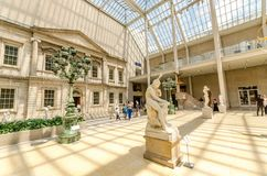 Museo di arte metropolitano, New York, U.S.A. Fotografia Stock Libera da Diritti