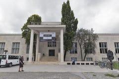 Museo di arte moderna a Transferrina, Slovenia Immagini Stock