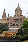 Museo di Arte nazionale della Catalogna, Barcellona Fotografia Stock