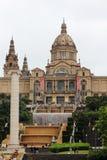Museo di Arte nazionale della Catalogna, Barcellona Fotografie Stock Libere da Diritti