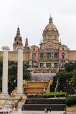 Museo di Arte nazionale della Catalogna, Barcellona Immagine Stock Libera da Diritti