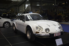 Museo di Autoworld, Brusells, Belgio, il 10 luglio 2016 Immagine Stock