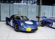 Museo di Autoworld, Bruxelles, Belgio, il 10 luglio 2016 Fotografia Stock Libera da Diritti