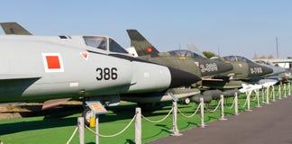 Museo di aviazione di Costantinopoli Immagini Stock Libere da Diritti