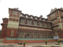 Museo di Baroda, Vadodara, Gujarat fotografia stock libera da diritti