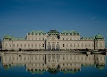 Museo di belvedere di Wien fotografia stock libera da diritti