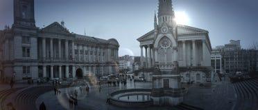 Museo di Birmingham della plaza fotografia stock