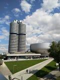 Museo di BMW, Germania fuori della vista Monaco di Baviera immagine stock