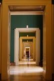 Museo di Capodimonte nel grande palazzo di Bourbon di Napoli Fotografia Stock