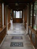 MUSEO DI CASA DEL PALAZZO DELLA FAMIGLIA PRIMAVERII DI CEAUSESCU fotografie stock libere da diritti