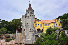 Museo di Conde Castro Guimaraes, Cascais, Portogallo fotografie stock libere da diritti