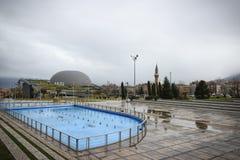 Museo di conquista di panorama di Bursa immagini stock