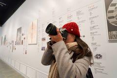 Museo di eredità di Hong Kong Fotografia Stock Libera da Diritti