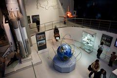 Museo di esplorazione di spazio sovietica fotografia stock libera da diritti