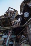 Museo di estrazione mineraria e dell'industria pesante in vitkovice di ostreva in repubblica Ceca fotografia stock libera da diritti