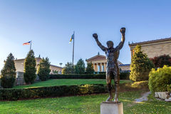 Museo di Filadelfia alla caduta Fotografia Stock