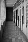 Museo di genocidio di Tuol Sleng s21, Phnom Penh, Cambogia Fotografia Stock