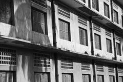 Museo di genocidio di Tuol Sleng s21, Phnom Penh, Cambogia Immagini Stock Libere da Diritti