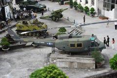 Museo di guerra di Hanoi Fotografia Stock Libera da Diritti