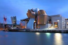 Museo di Guggenheim, Bilbao, Spagna fotografie stock libere da diritti