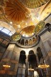 Museo di Hagia Sophia (Ayasofya) a Costantinopoli Immagini Stock Libere da Diritti