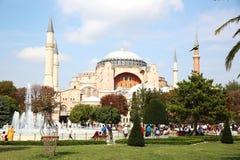 Museo di Hagia Sophia a Costantinopoli fotografia stock libera da diritti