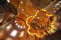 Museo di Hagia Sophia a Costantinopoli Immagine Stock