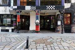 Museo di Hundertwasser a Vienna fotografie stock libere da diritti