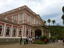 Museo di Impperial - polis del ³ di Petrà - Rio de Janeiro fotografie stock libere da diritti