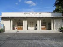 Museo di Joang 45 a Jakarta Immagini Stock Libere da Diritti