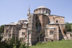 Museo di Kariye in Istambul Fotografie Stock Libere da Diritti