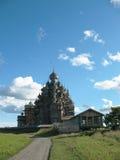 museo di kizhi di architettura di legno Fotografie Stock