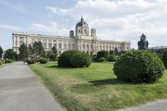 Museo di Kunsthistorisches a Vienna Fotografia Stock