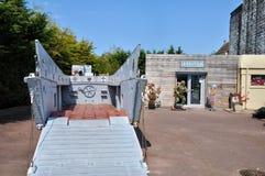 Museo di Le Grand Bunker in Ouistreham in Normandie Fotografie Stock