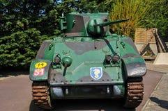 Museo di Le Grand Bunker in Ouistreham in Normandie Fotografie Stock Libere da Diritti