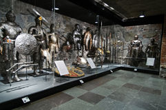 Museo di Livrustkammaren l'arsenale Immagini Stock