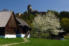 Museo di Lubovna & castello, regione di Spis, Slovacchia Fotografia Stock
