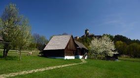 Museo di Lubovna & castello, regione di Spis, Slovacchia Fotografie Stock Libere da Diritti