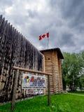 Museo di Luxton di nazioni della Buffalo Immagine Stock Libera da Diritti