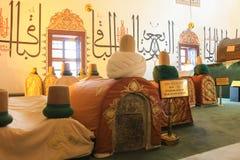 Museo di Mevlana in Konya, Turchia Fotografia Stock Libera da Diritti