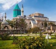 Museo di Mevlana in Konya, Turchia immagine stock